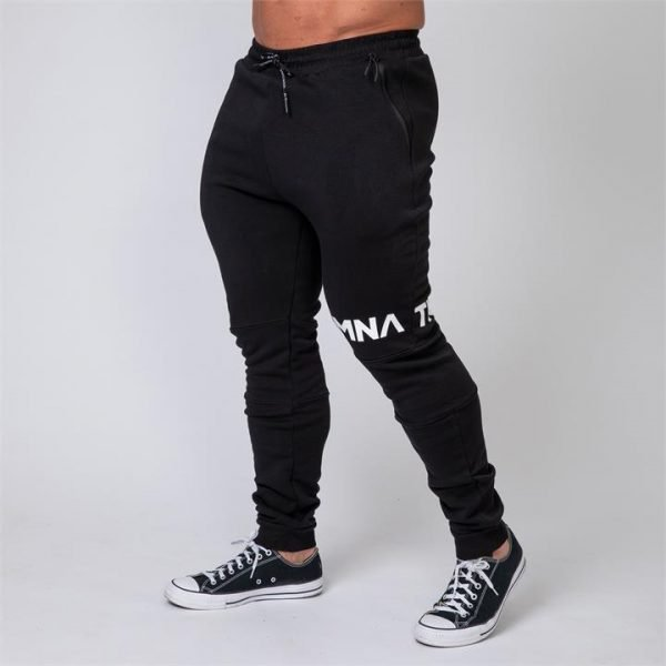 MNation Tapered Joggers - Black - M