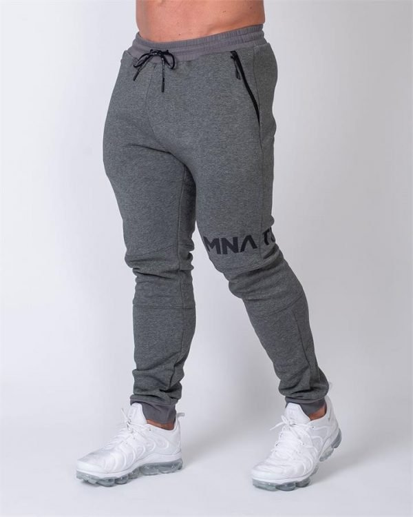 MNation Tapered Joggers - Charcoal - L