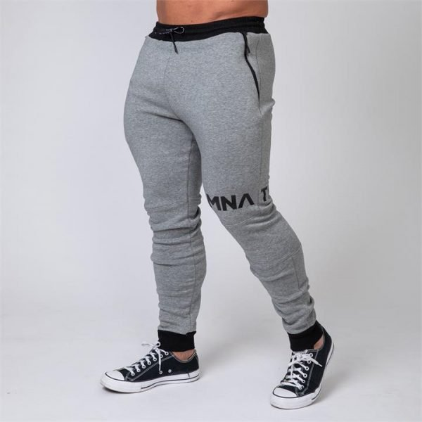 MNation Tapered Joggers - Grey - L