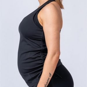 Maternity Tank - Black - S