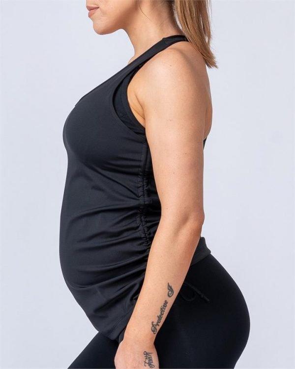 Maternity Tank - Black - XS