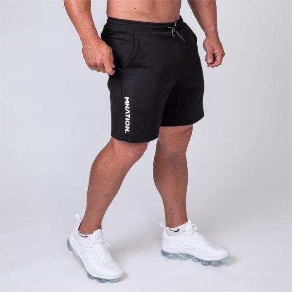 Mens Casual Shorts - Black - L