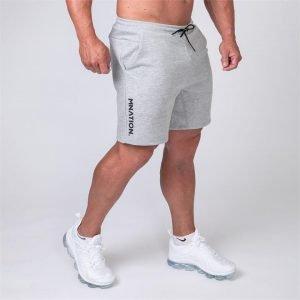 Mens Casual Shorts - Grey - XL