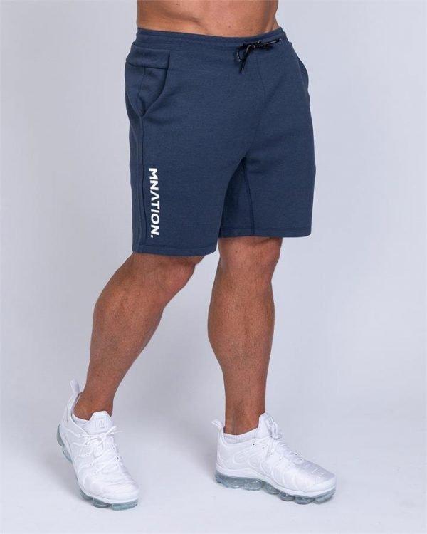 Mens Casual Shorts - Navy - XXL