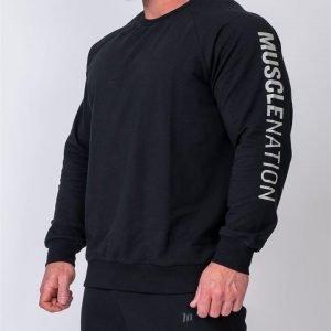 Mens Lightweight Long Sleeve - Black - M