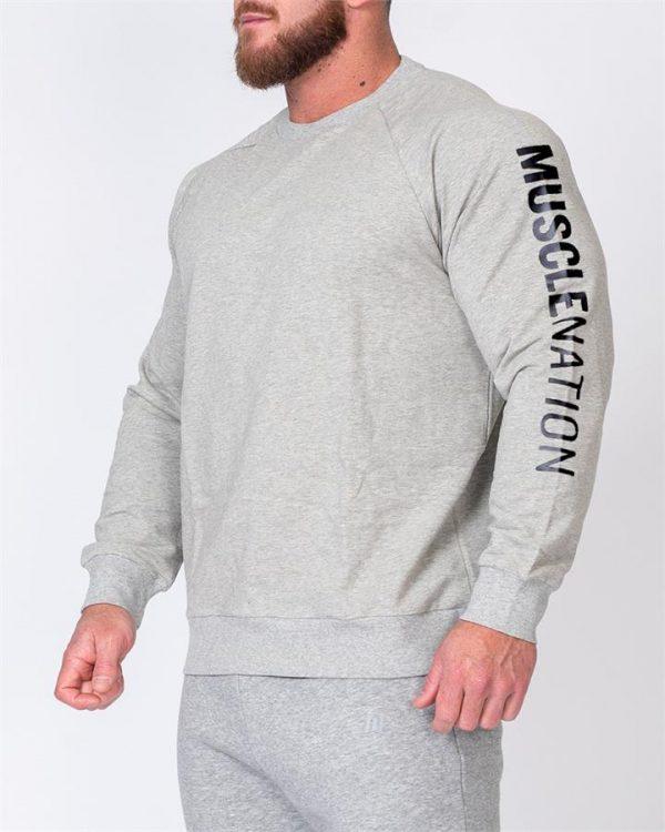 Mens Lightweight Long Sleeve - Grey - XXL