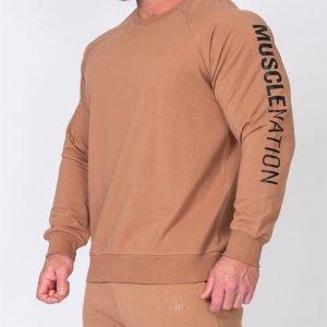 Mens Lightweight Long Sleeve - Latte - L