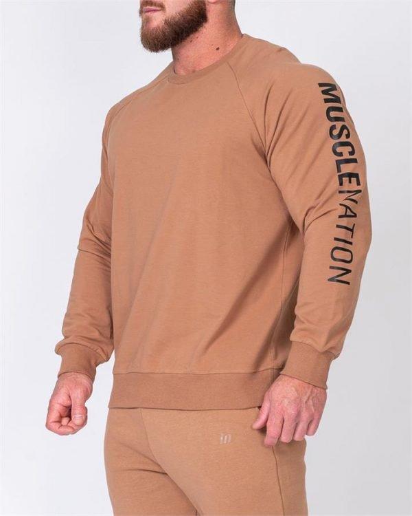 Mens Lightweight Long Sleeve - Latte - XL