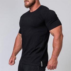 Mens Minimal Tee - Black - XL
