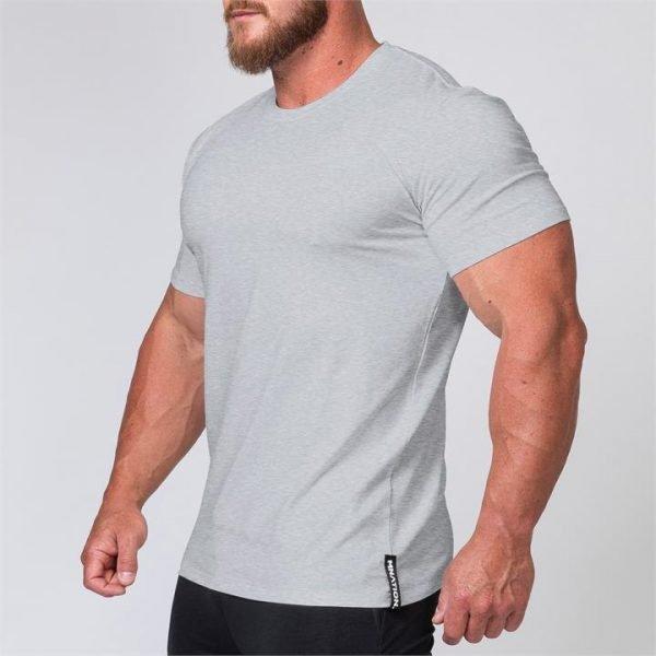 Mens Minimal Tee - Grey - XL