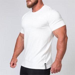 Mens Minimal Tee - White - L