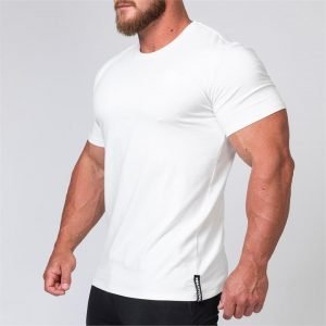 Mens Minimal Tee - White - M