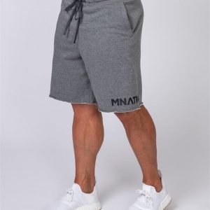 Mens Relaxed Shorts - Charcoal - XXXL