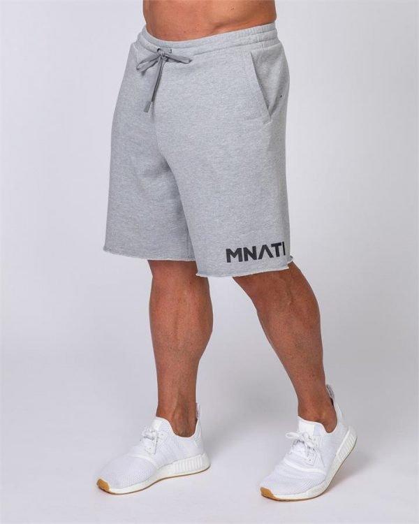 Mens Relaxed Shorts - Grey - XXXL