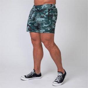 Mens Training Shorts - Camo - M