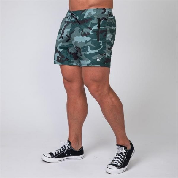 Mens Training Shorts - Camo - S