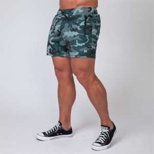 Mens Training Shorts - Camo - XL