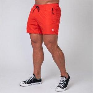 Mens Training Shorts - Red - M