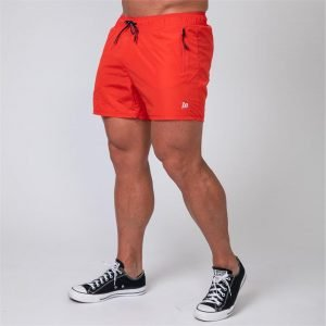 Mens Training Shorts - Red - XL