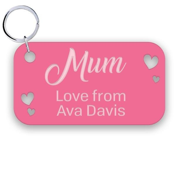 Mother's Day - Acrylic Key Ring