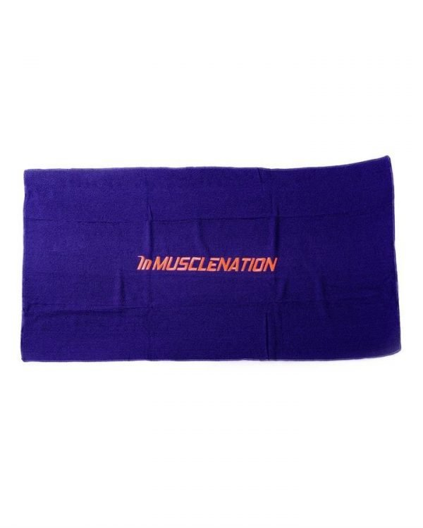 Muscle Nation Gym Towel - Navy