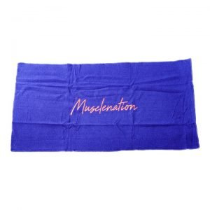 Muscle Nation Signature Gym Towel - Navy