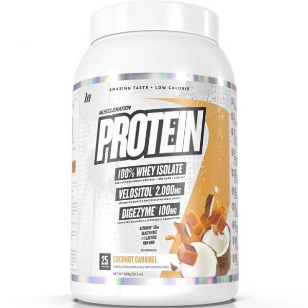 PROTEIN 100% Whey Isolate COCONUT CARAMEL