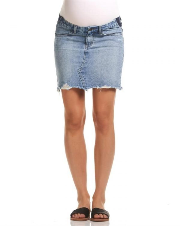 Paige Denim Maternity Skirt