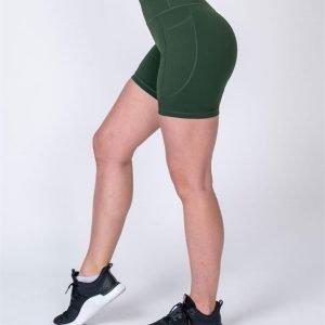 Pocket Bike Shorts - Moss - L
