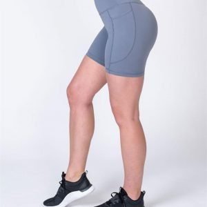 Pocket Bike Shorts - Stone - L