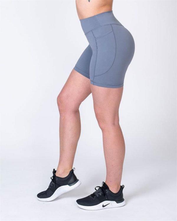 Pocket Bike Shorts - Stone - L