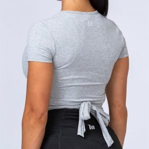 Quick Wrap Tee - Grey - M