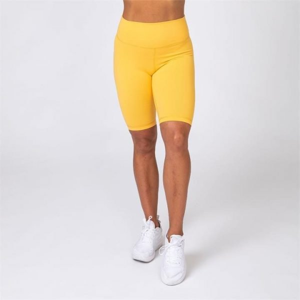 Referee Length High Waist Scrunch - Mango - S