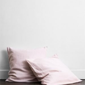 Rosewater 100% Flax Linen European Pillowcases (Set of Two) - Bed Threads