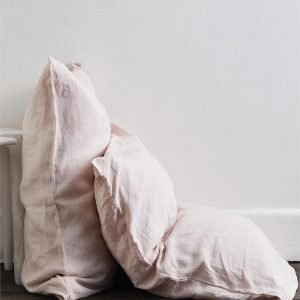 Rosewater 100% Flax Linen Pillowcases (Set of Two) - Bed Threads