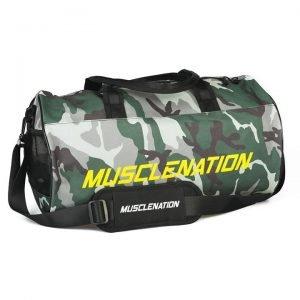 Round Premium Gym Bag - Camo