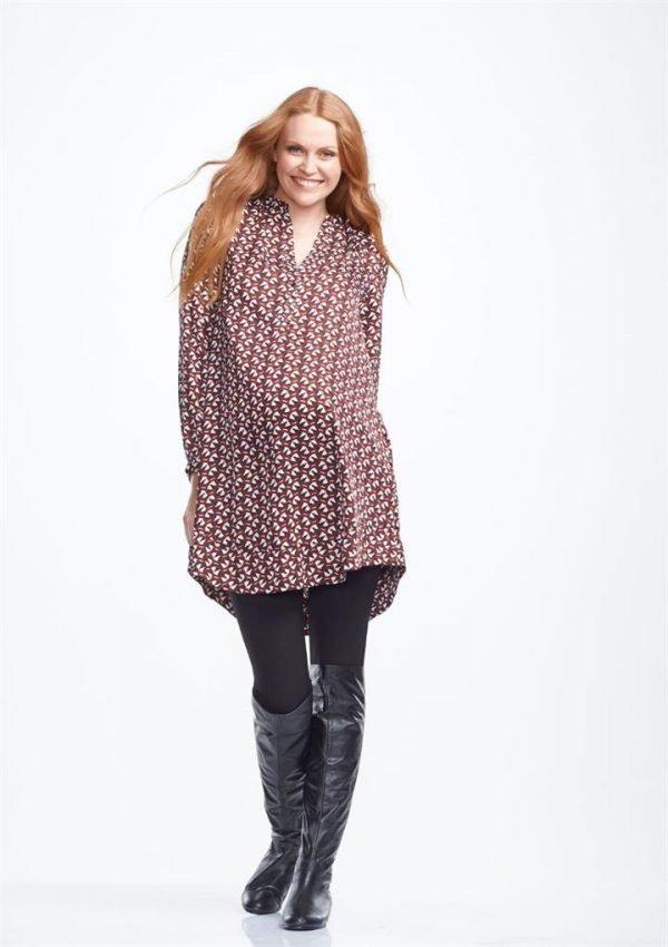Ruby Shirt Maternity Dress