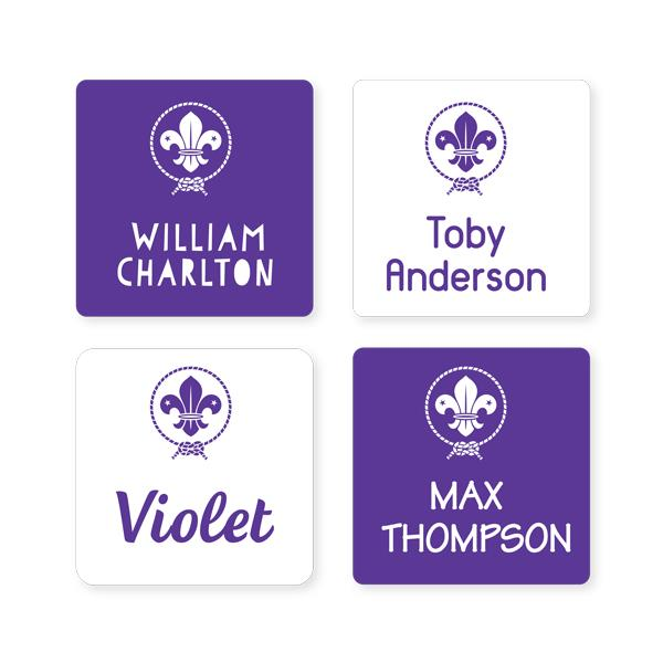 Scout Multi Use Labels - Square
