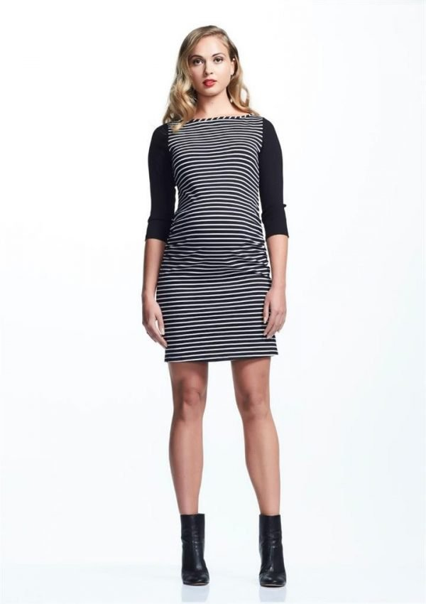Sienna Mini 3/4 Sleeve Maternity Dress