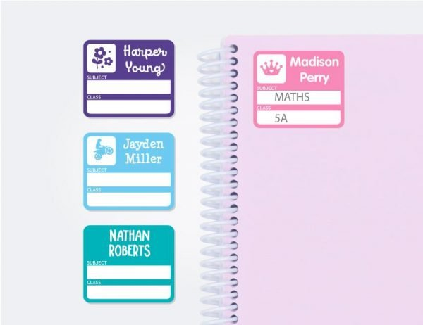 Subject (Book) Labels