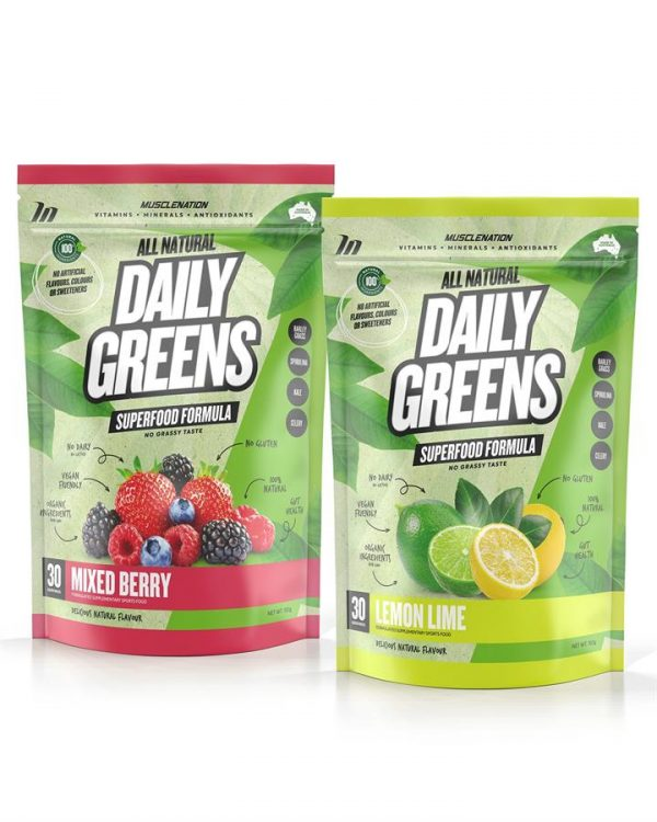 TWIN PACK - 100% Natural Daily Greens - Select Flavour 1