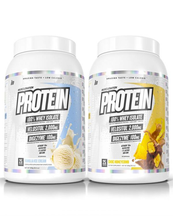 TWIN PACK - PROTEIN 100% Whey Isolate - Select Flavour 1