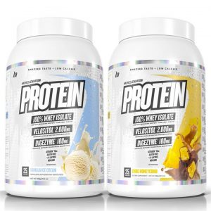 TWIN PACK - PROTEIN 100% Whey Isolate - Select Flavour 2