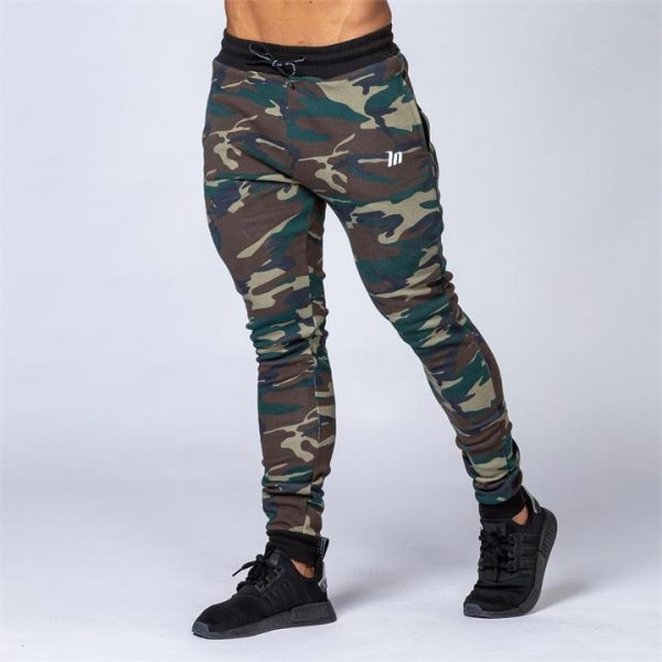 Tapered Joggers - Camo - L