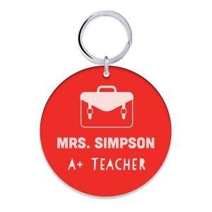 Teachers Key Ring