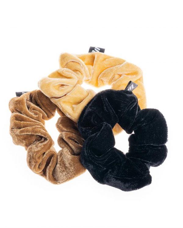 Tonal Vibes Scrunchie Pack - 3 Scrunchies