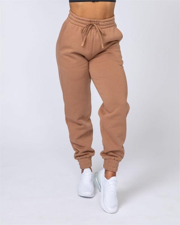 Warm-Up Trackies - Latte - S