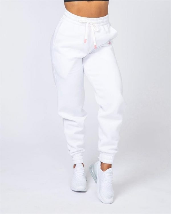 Warm-Up Trackies - White - L