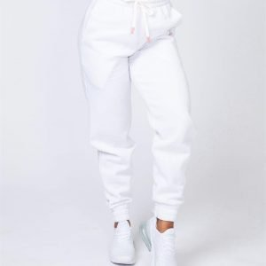 Warm-Up Trackies - White - S