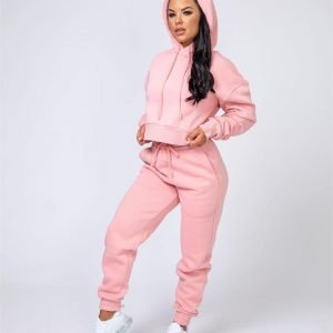 Warm-Up Tracksuit Set - Pink - Warm-Up Trackies